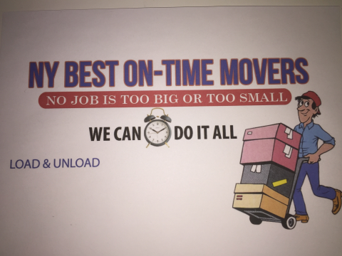 Ny Best On-Time Movers profile image