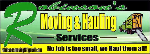Robinson's Moving & Hauling Services profile image