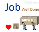 Job Well Done Movers profile image