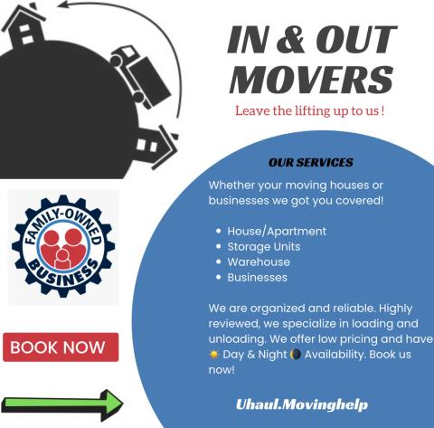 In And Out Movers & Cleaning Company profile image