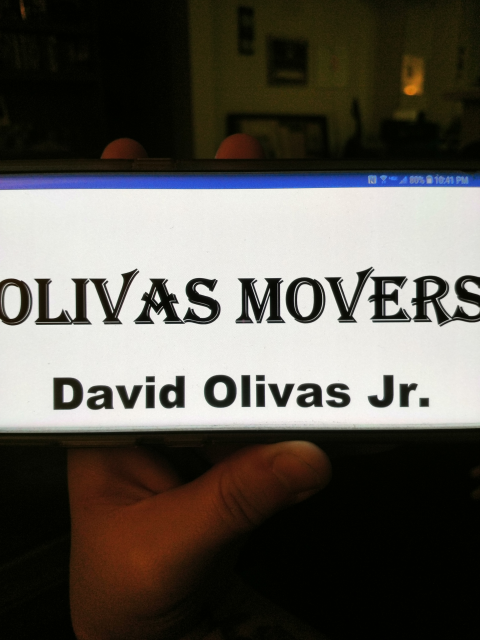 Olivas Movers profile image