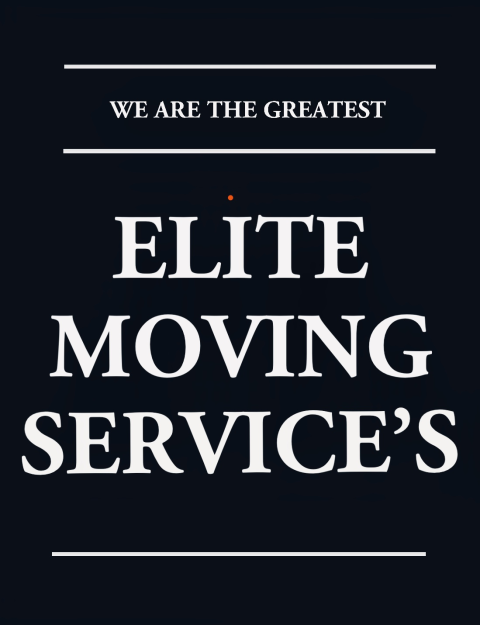 Elite Moving Services  profile image