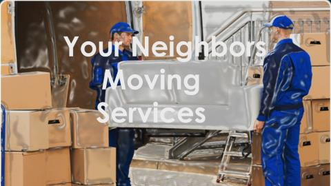Your Neighbors Moving Services profile image